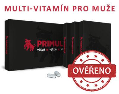 Recenze na Primulus - Vitamíny pro muže