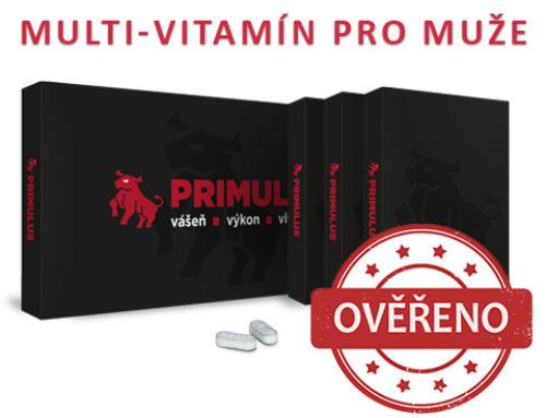 Primulus – Vitamíny pro muže ve vás probudí novou vášeň