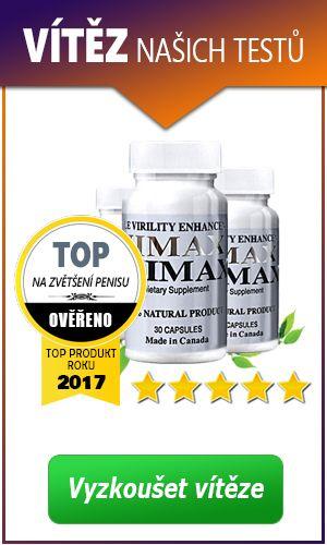 TOP produkt na zvětšení penisu roku 2017 - Vimax Pills