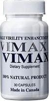 Vimax - Prášky na zvětšení údu