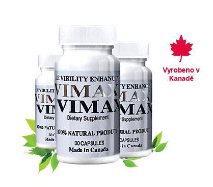 Vimax Pills- Zlepšení erekce a zvětšení penisu